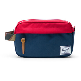 Herschel Chapter Carry On Travel Kit, navy/red/woodland camo